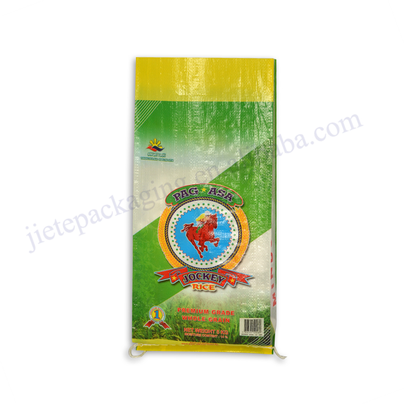 Factory make bopp laminated woven polypropylene agricultural Philippines PAG SAS 5kg rice packing bags