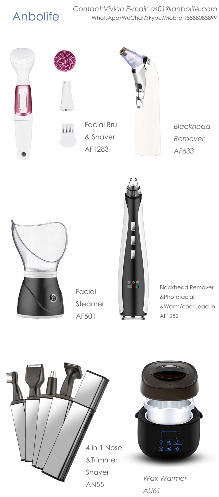 Best seller! Electric Lady Shaver/Epilator/Electric Eyebrow shaver Women's Painless Hair Remover