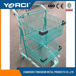 shopping popular electric shopping cart trolley