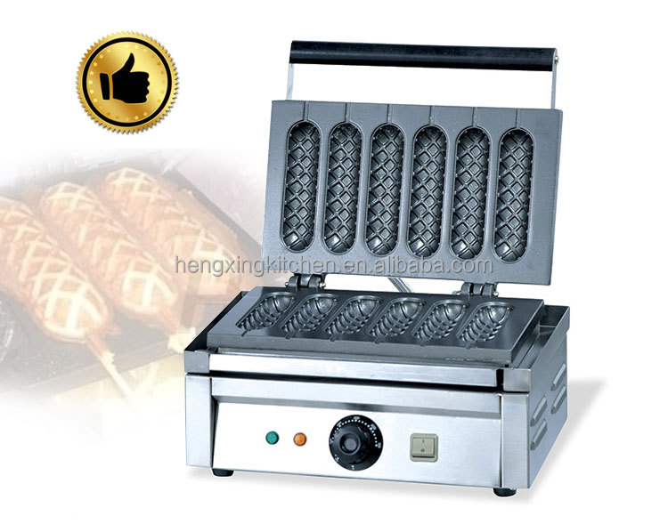 waffle dog baker machine/french muffin <strong>corn</strong> dog machine for sale