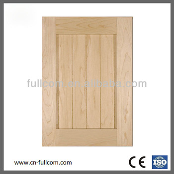 Maple Grooved Shaker Style Kitchen Cabinet Door Buy Unfinish