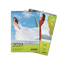 2019 A3 tamaño <span class=keywords><strong>arte</strong></span> colgante de pared calendario