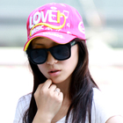 women's fashion customized 8 panel baggy caps and hats