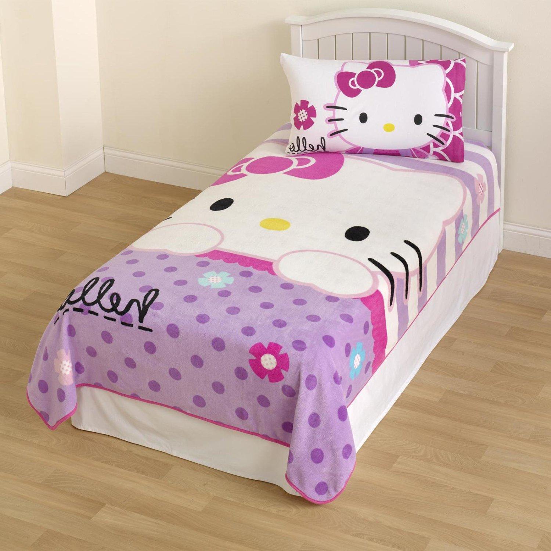 Cheap Hello Kitty Pattern Blanket find Hello Kitty Pattern Blanket