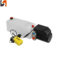12V DC hydraulic power pack for trailer tipping system