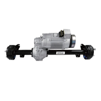 5kW 48V Traction Motor Differential Rear Axle Assembly Electric Driving System