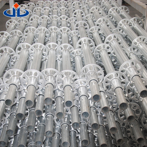 Scaffolding part hot dipped galvanized ringlock scaffolding ledger