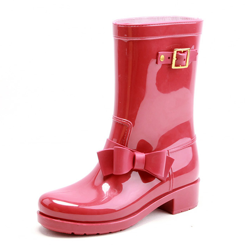 Pvc Girl Rain Boots Gumboots,Unique Women Rain Boots Shoes - Buy ...
