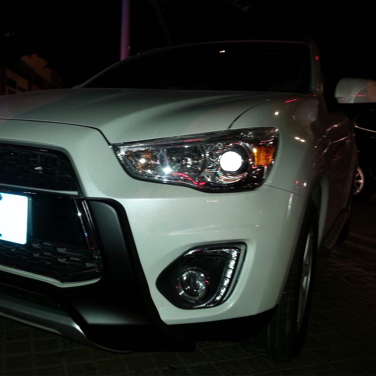 Running Clip On Light For Mitsubishi ASX 2013 - 2015 With Yellow Light