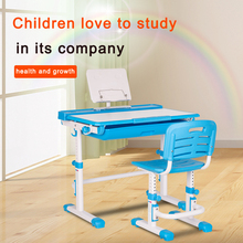 Children table and chairs set kids study desk ergonomic study table for kids