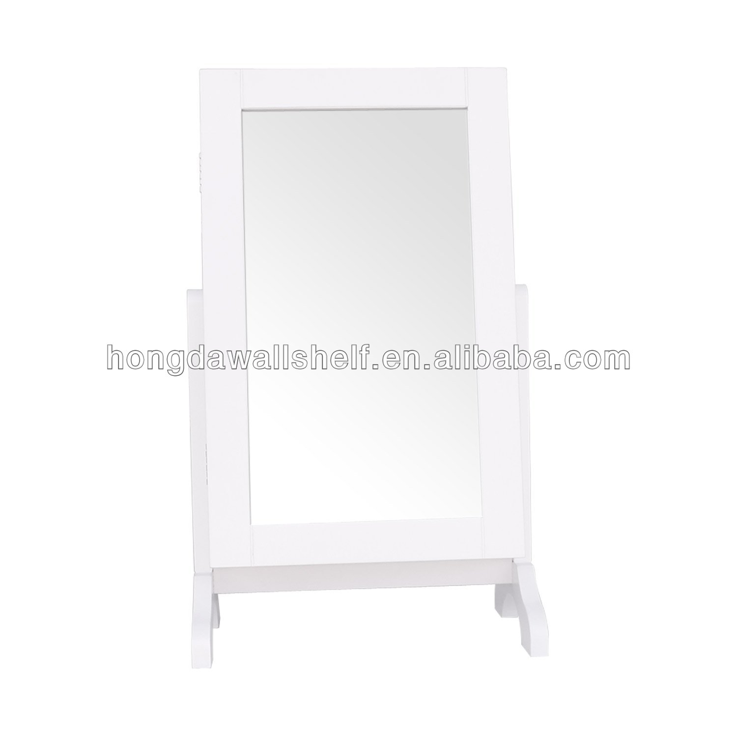 Table top Mirrored Jewelry Cabinet