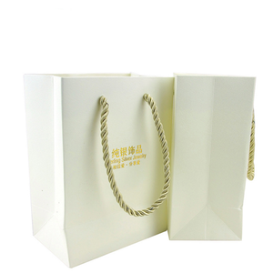 Decorative Paper Packaging Jewelry Bag For Gift