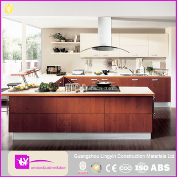 Cheap Price Melamine Woodne Kitchen Cabinet Designs With