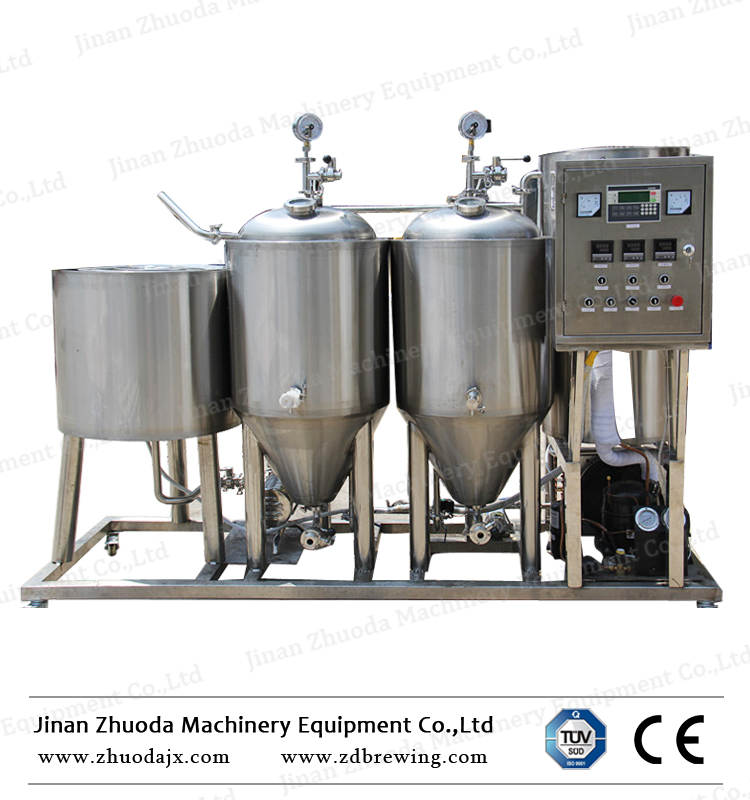 4bbl Steam Heating Nano Brewery System Micro Brewing