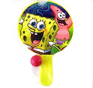 Nickelodeon Spongebob Paddle Ball Game - SpongeBob Paddle Game - Spongebob Paddle Ball Game