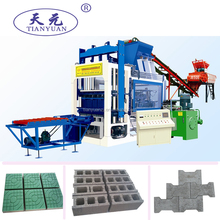 QTY4-15A concrete block making machine/automatic hydraulic pressure block making/hollow block manufacture machine