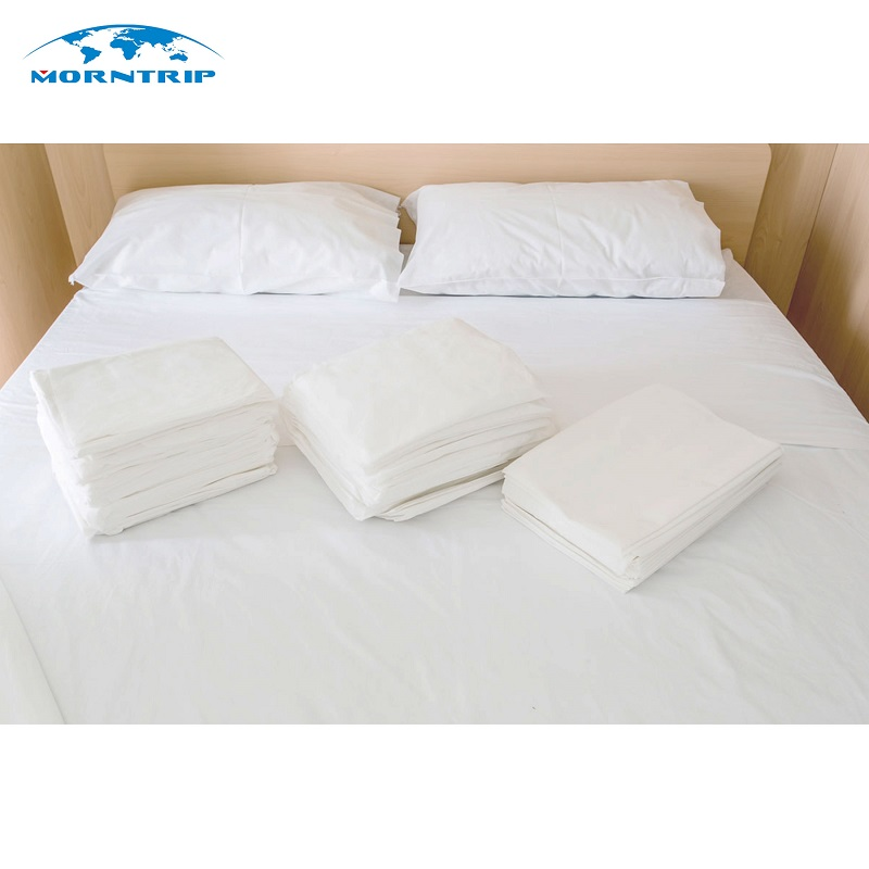 High Quality Disposable White Bed Sheets Hospital Linen Hospital Bed