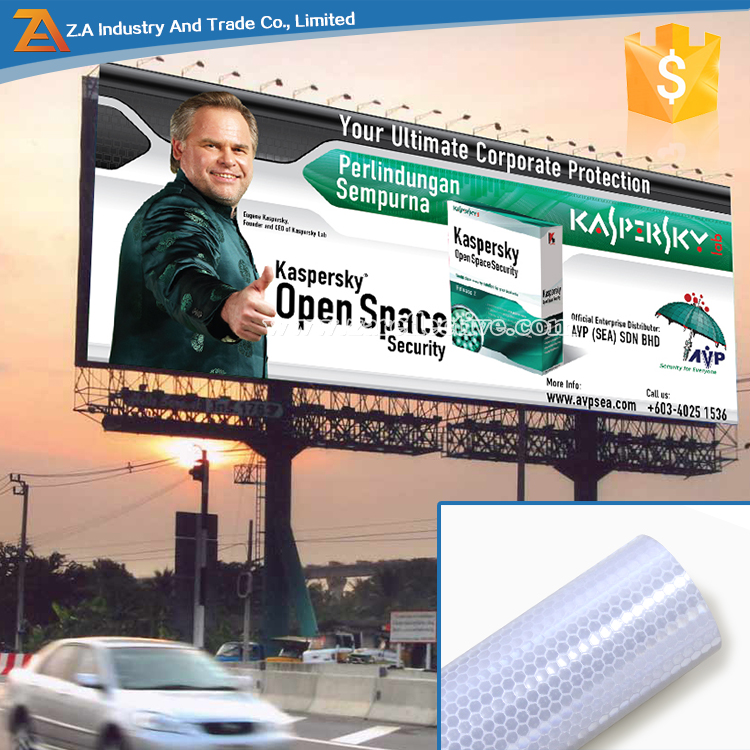 China Suppliers High Light Adhesive Reflection Sheet With ...
