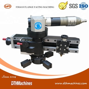 FDG610 Portable Flange Facing Machine for Rise face flanges refinish