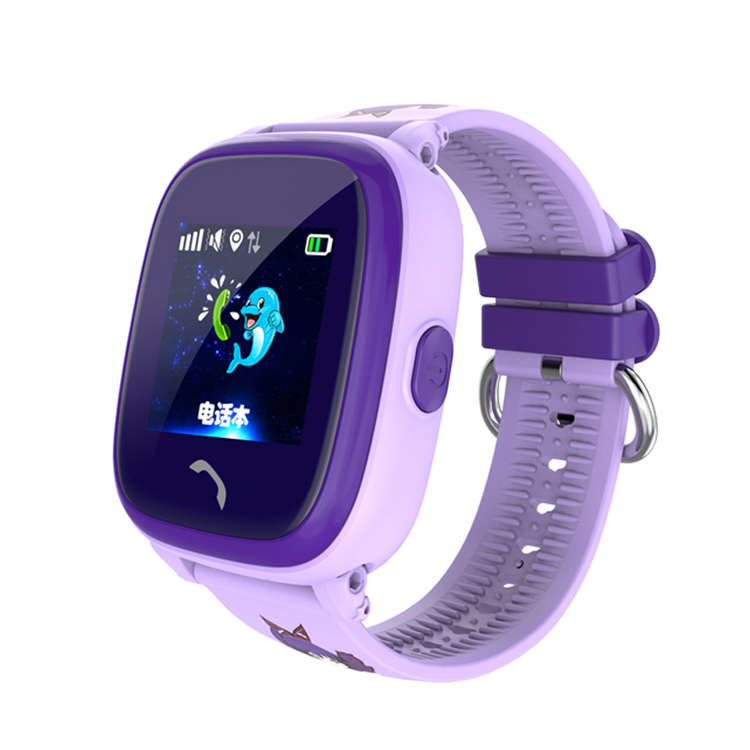 Waterproof gps Kids Tracker DF25 Kids Smart Watch Small Gifts with Food Grade Silicone