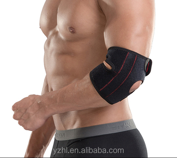 Adjustable Neoprene Elbow Support with Spring