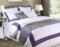 Top design hotel quality patchwork bedding set for boutique