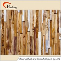 3D Decorative Decorative Wood Wall Covering Panels