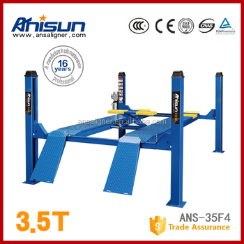 4 Post Car Lifts Hydraulic Jack As Used Wheel Alignment Lift Buy 4