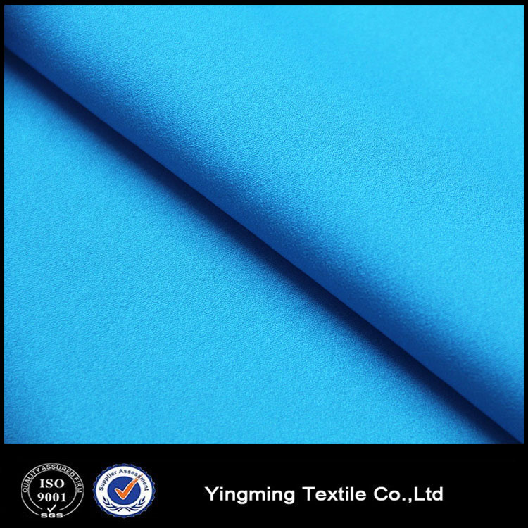 Manufacturer price 50D poly silk chiffon fabric for popular garments
