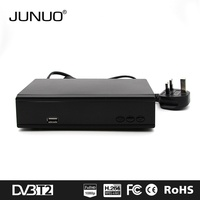 JUNUO shenzhen factory 2016 good quality h.264 full hd mstar 7t01 strong tv decoder set top box dvb t2 Tanzania