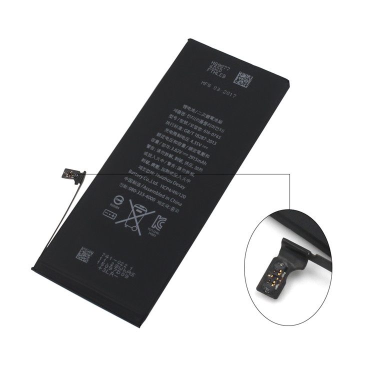 AAA+ grade pure core battery for iphone 6 plus battery replacement for iphone 6 plus