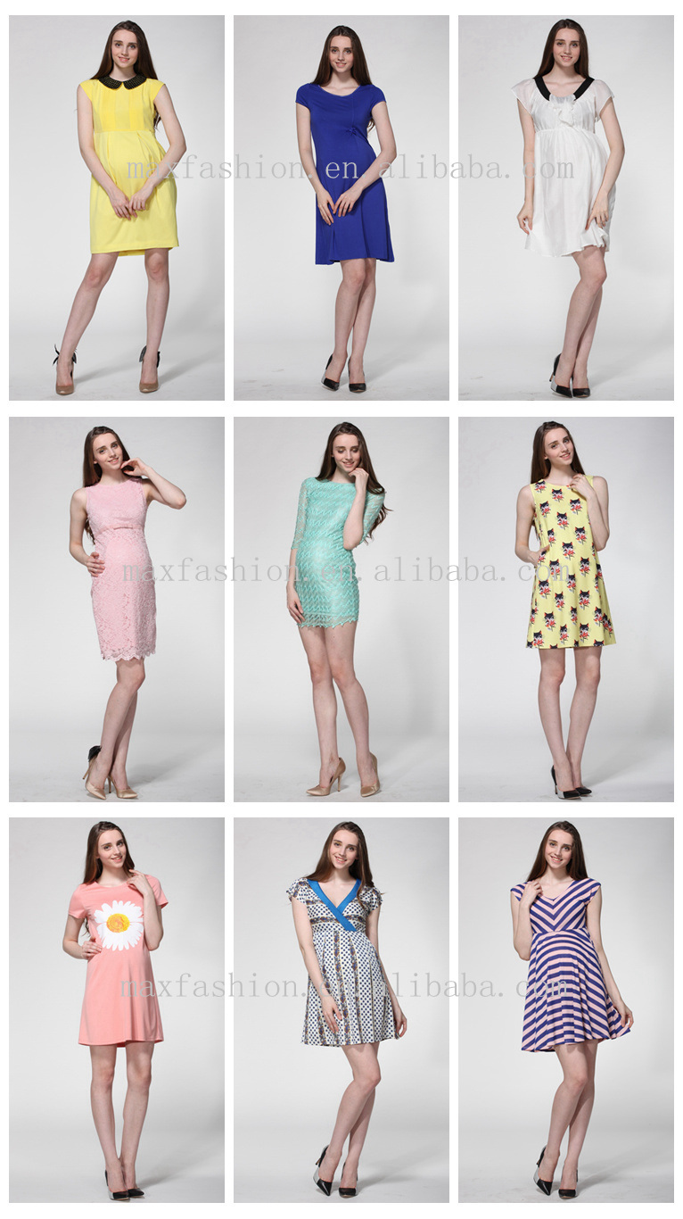 771d6a4c4fb2f Oem Wholesale Fashion Style White Goddess Maternity Dress For Ladies ...