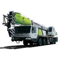 Zoomlion new 50 55 ton mobile truck crane with cheap price for sale QY55V