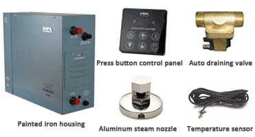 3 Phases Steam Generator For Steam Room / Small Steam Powered Green Steam Engine / Hot-Selling Steam Generator