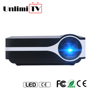 branded hd led multimedia mini home theater tv laptop projector