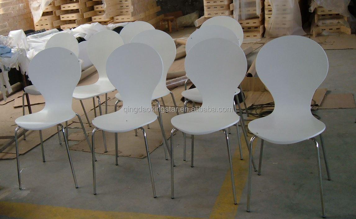 Bentwood chair modern - Modern Birch Bentwood Restaurant Chairs