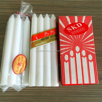 Israel market White Bright Household Paraffin candle wax distributors