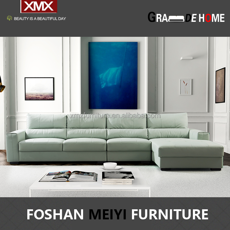 living room furniture modern leisure function leather <strong>sofa</strong> 3205