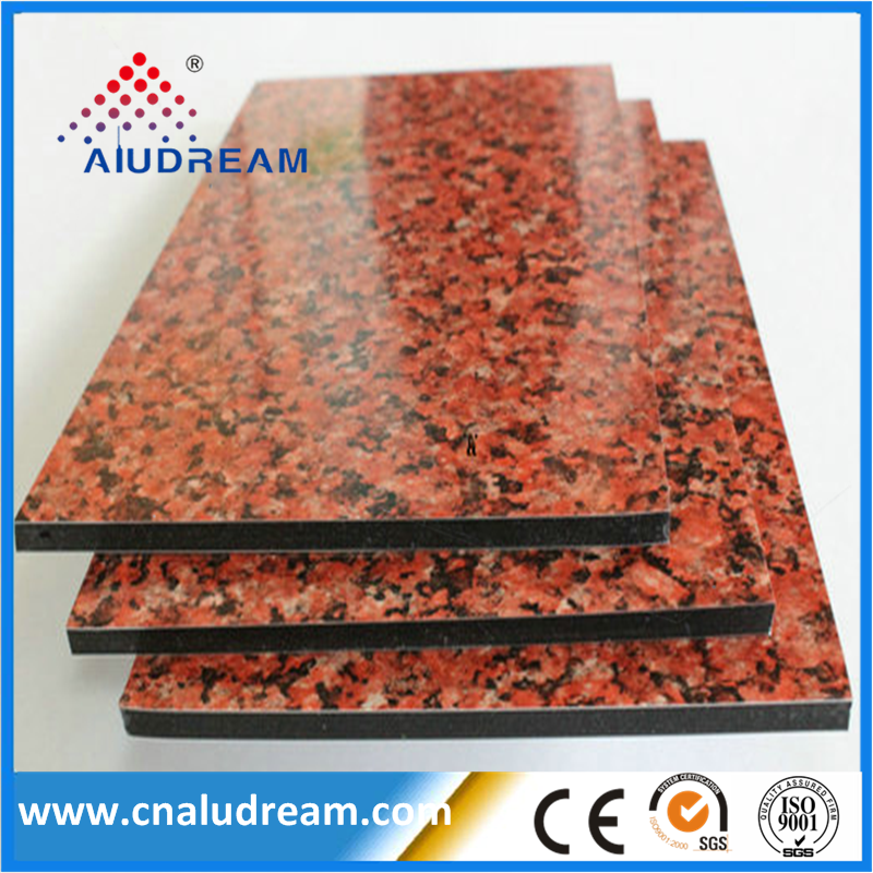 Marble granite 4mm aluminum composite <strong>panel</strong>