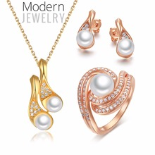 Pearl Ring Settings China Wholesale 925 Sterling Silver Jewelry Set