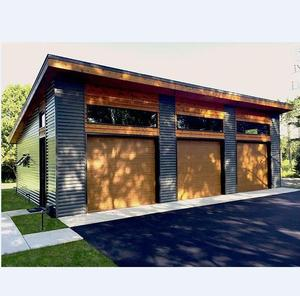 cheap easy assemble 3 car prefab wooden garage/storage house/shed for sale