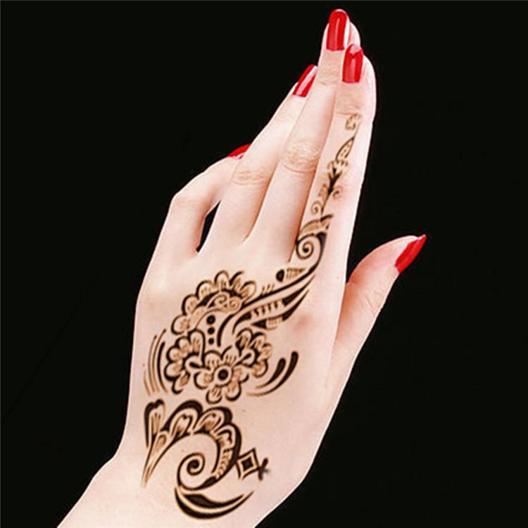 b6a76474c Wholesale New Tattoo Body Art Henna Mehndi Stencils Indian Wedding ...