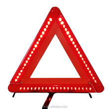 LED vehicle emergency warning triangle