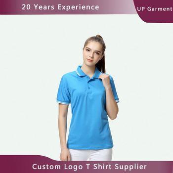Manufactory Heat Transfer Printing Custom Polo Shirts No Minimum