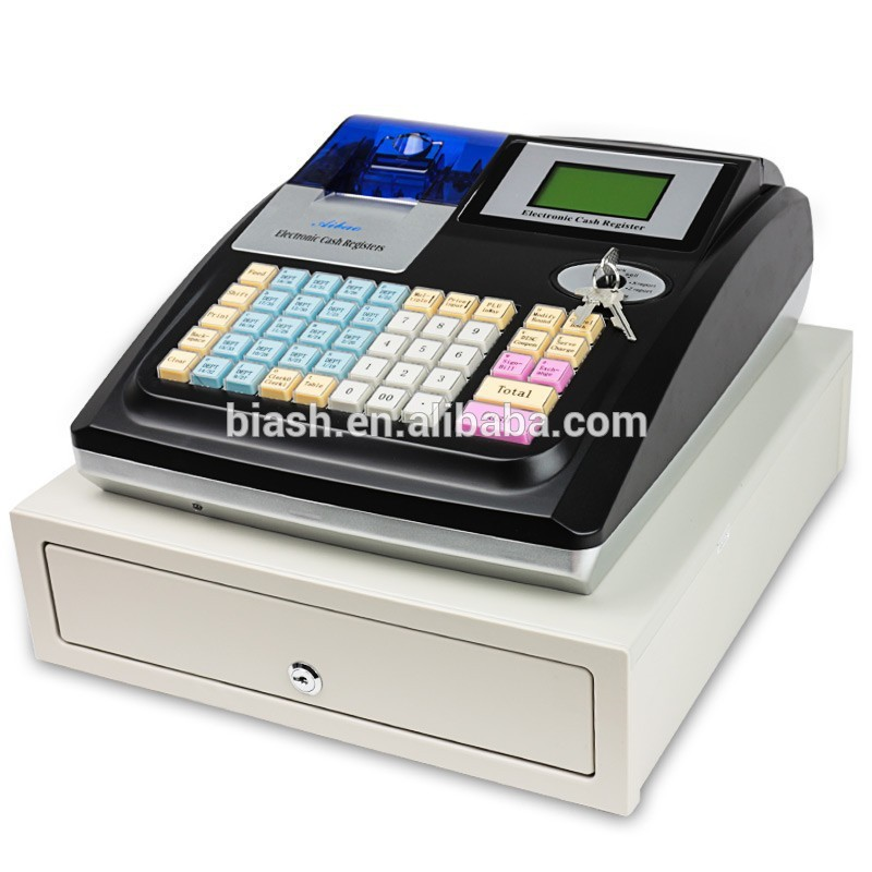 Cheap Cash Register Machine With Big Cash Drawer - Buy ...