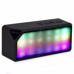 Portable Wireless Speaker Mini Speaker FM Radio AUX Function Songs Track  Support TF Card