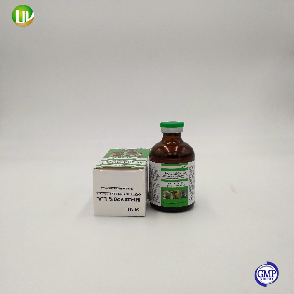 Cheval bovins antibiotique injection 20% oxytétracycline hcl injection