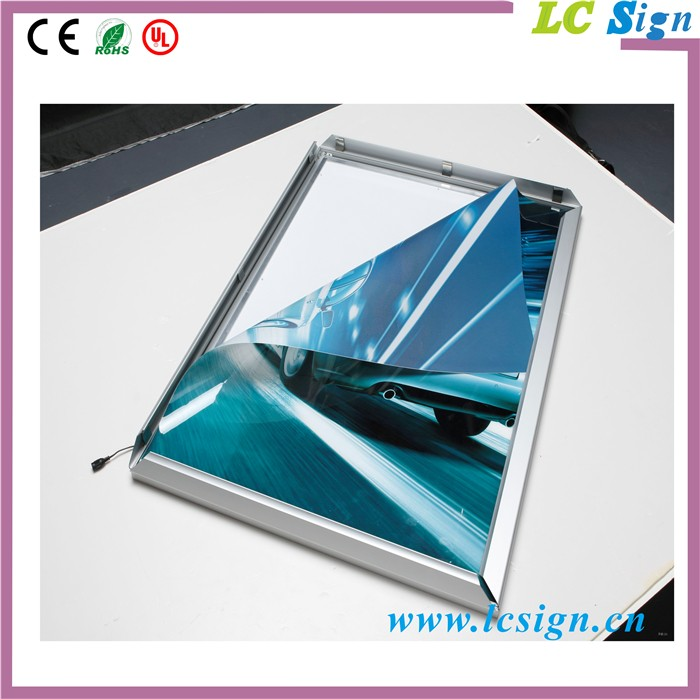 China Supplier Super Slim A0,A1,A2,A3,A4 Aluminum Acrylic Led ...