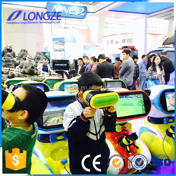 Longze Manufacture supplies VR System free educational games for children bear baby vr simulator