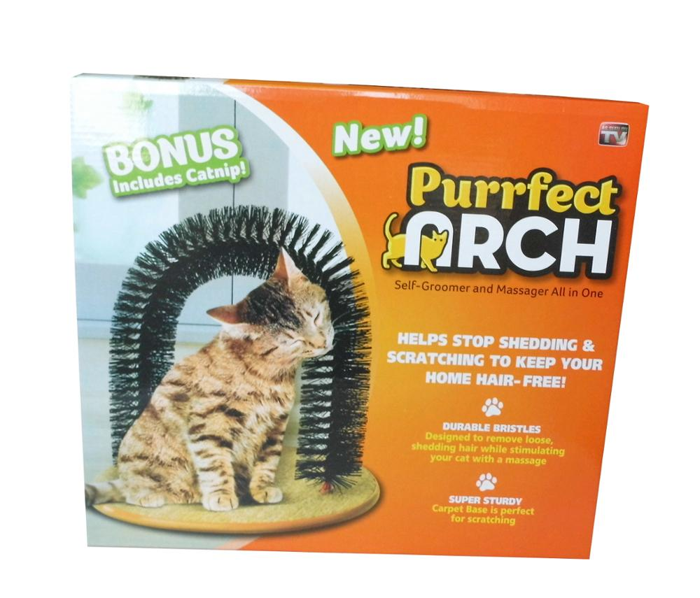 Purrfect Arch Groomer For Cats Kitten Scratching Toys